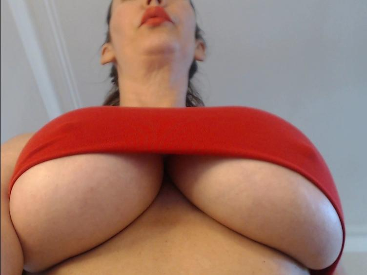 Beautiful busty MILF waiting to tease you with my huge 34H boobs and wet hairy pussy. Please note i dont use toys. Come visit my show!