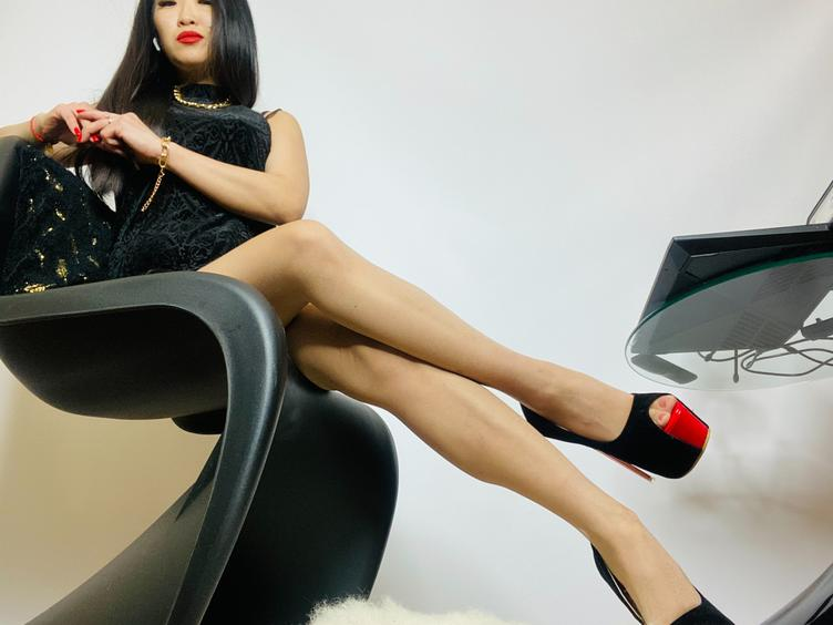 MistressCruel You can be only a slave for Me and nothing but a slave. That means that you will treat me with respect, it means that you are here to listen and obey.