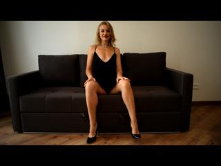 Beine, Blond, Girl, Posing, Solo, Outfits