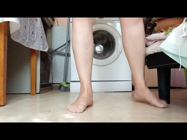 Pinkeln in die Küche