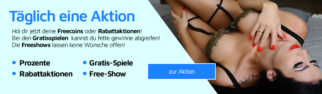 Hol dir jetzt deine Freecoins oder Rabattaktionen!Bei den Gratisspielen  kannst du fette gewinne abgreifen! Die Freeshows lassen keine Wünsche offen!